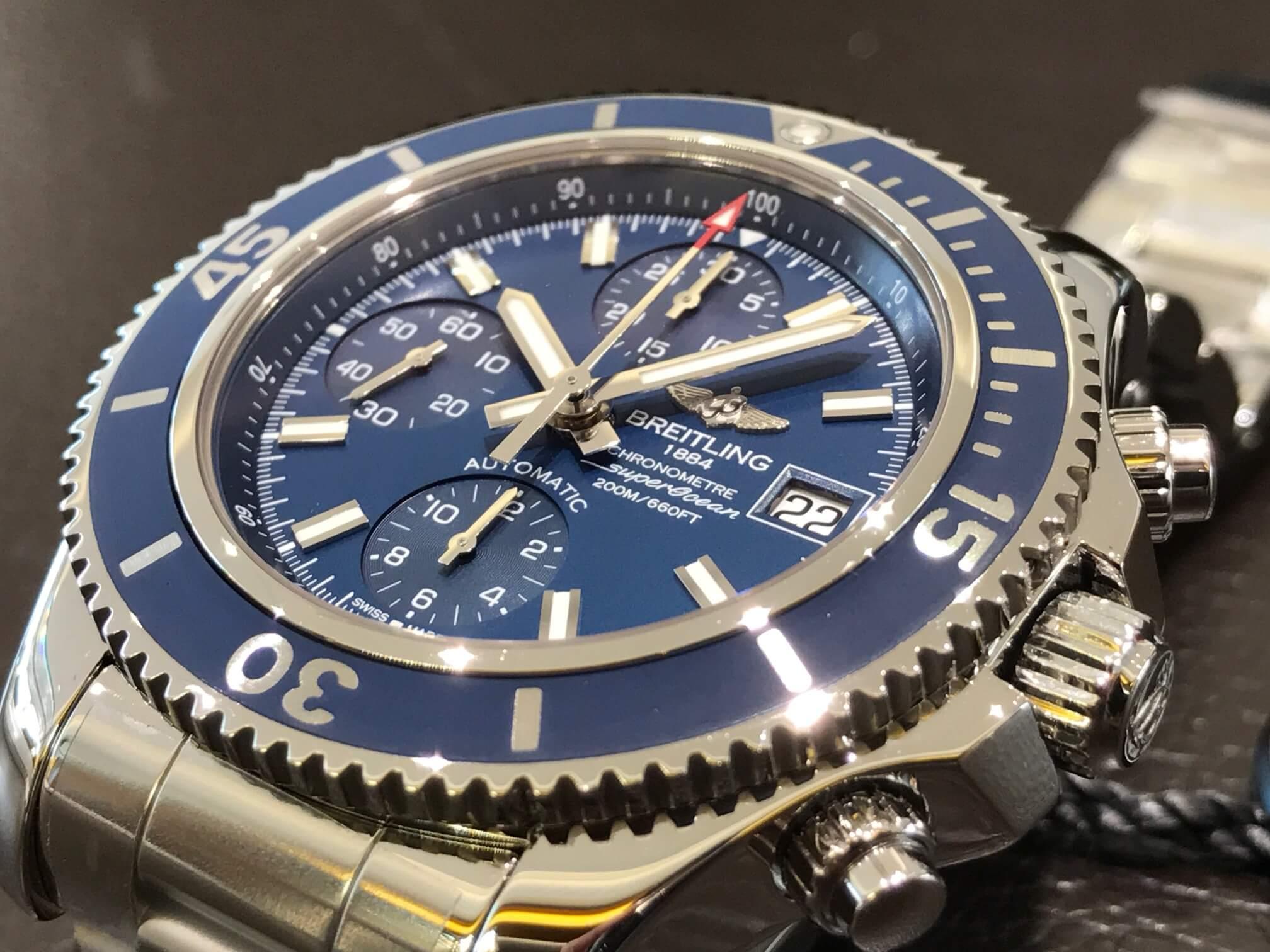 promo code 864bc 4aa85 スーパーオーシャンクロノグラフ42mm | 精光堂 -SEIKODO- 輸入 ...