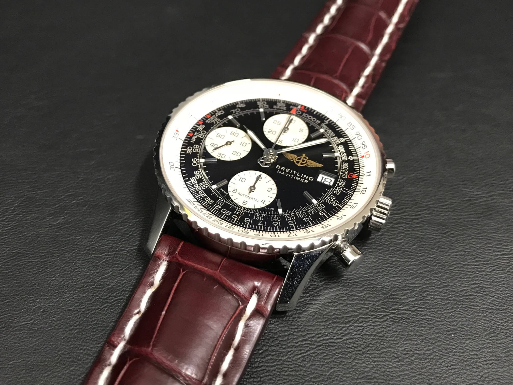 watch 21cdc 1deab ブライトリングは革ベルトもご一緒に   精光堂 -SEIKODO- 輸入 ...