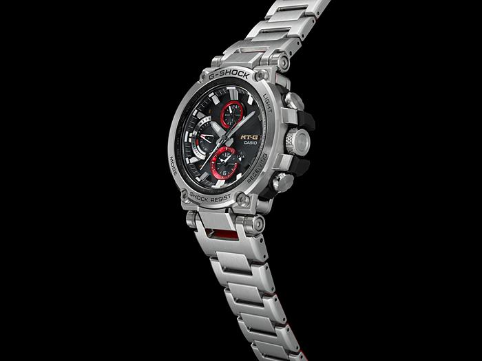 76d07ca621 メタルと樹脂を融合した独創の耐衝撃構造、時計の本質である美しさ、そして正確な時刻精度を追求する新モジュールの搭載など、更に進化したNew MT-G の登場です。